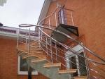 Наружная витая лестница для частного дома