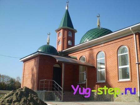 Крыльцо мечети
